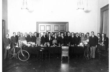 Årsmöte i UCK 1920