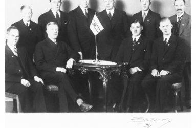 UCK's styrelse på 30-talet