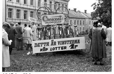 Reklam för crescent från 40-talet